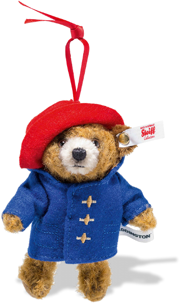 Paddington, Limited Edition Ornament. Steiff 690396